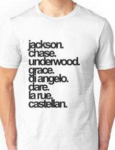 Percy Jackson And the Olympians characters Unisex T-Shirt
