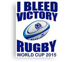 Scotland Rugby Union World Cup 2015 - Tshirts, Stickers, Mugs, Bags Canvas Print