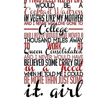 Felicity Smoak Quote - If I had accepted my life by dragonlxrd