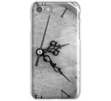 Vintage Wrought Iron Table Clock Detail iPhone Case/Skin