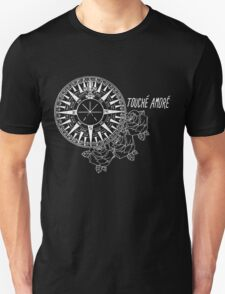 Compass Rose Noir Unisex T-Shirt