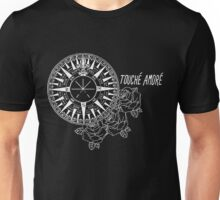 Compass Rose Noir Unisex T-Shirt
