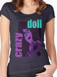 Crazy Doll Women's Fitted Scoop T-Shirt
