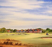 Royal Lytham And St Annes 18Th Hole by bill holkham