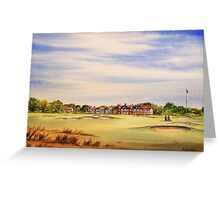 Royal Lytham And St Annes 18Th Hole Greeting Card