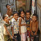 Khmer Children by Trishy