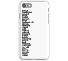 Percy Jackson and the Olympians Characters iPhone Case/Skin