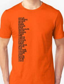 Percy Jackson and the Olympians Characters T-Shirt