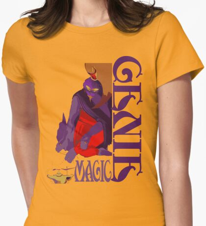 Genie Womens Fitted T-Shirt