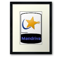 Powered by Mandriva ! [UltraHD] Framed Print