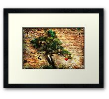 The Harvest: A New Heart Framed Print