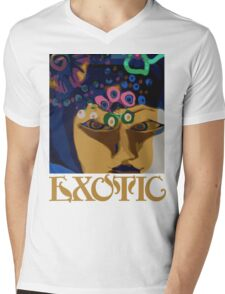Exotic Mens V-Neck T-Shirt