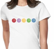 Minimalist Inside Out Womens Fitted T-Shirt