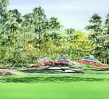 Augusta National Golf Course by bill holkham