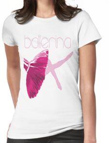 Ballerina Womens Fitted T-Shirt