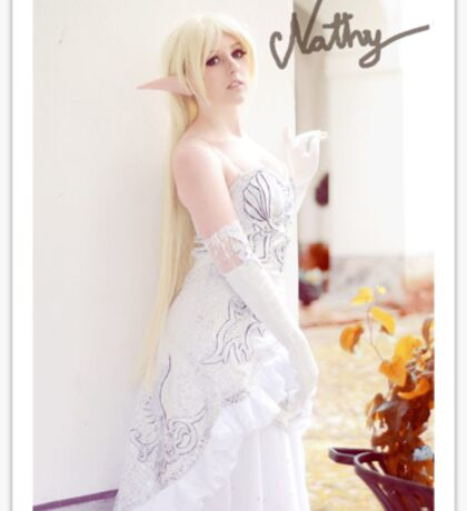 ~: Lineage II elf by Nathy :~ Sticker