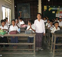 The Tonle Sap School by Trishy