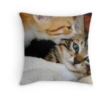 Bagheera & Minnie Throw Pillow