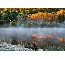 Cold Fire Sunrise Landscape Photographic Print