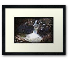 Rocky Plunger Framed Print