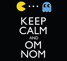 KEEP CALM AND OM NOM ! by eluardartiste