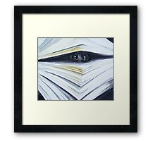 book Framed Print