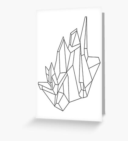 Crystal Greeting Card