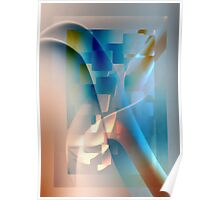 Lighten abstract Poster
