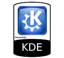 Powered By KDE ! Photographic Print
