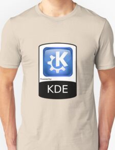 Powered By KDE ! T-Shirt
