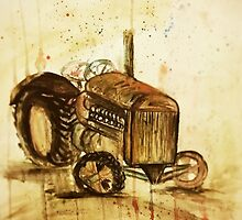 Old Tractor by Lauren Pigford
