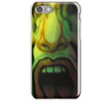 Jolly Green Scream iPhone Case/Skin