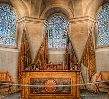 Seaforth and Queens Own Highlanders Chapel Altar by Fraser Ross