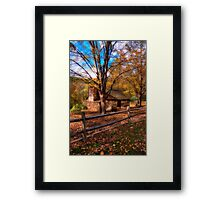 Autumn Glamour Glow  Framed Print