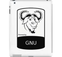 powered by GNU ! iPad Case/Skin