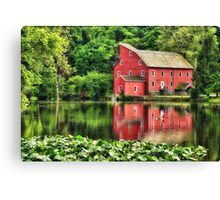 Red Mill Topaz Canvas Print