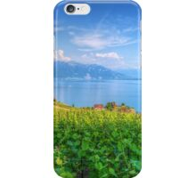 Lavaux, Vineyard Terraces iPhone Case/Skin