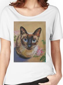 Siamese Cat Women's Relaxed Fit T-Shirt