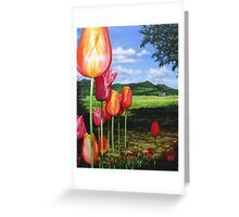 Tulips on the Edge Greeting Card