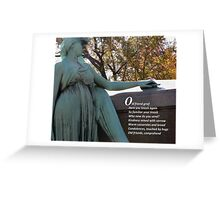 Old Friend Grief Greeting Card