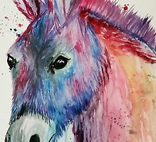 Silly Donkey, Miniature Donkey  by Lauren Pigford