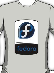 Powered By Fedora ! T-Shirt