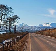 Torridon mountain range by Panalot