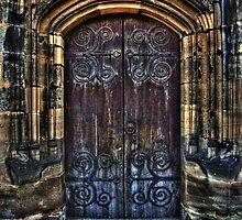 14th Century Door by Yhun Suarez