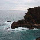 Cliff at Hawaii Kai by xuyichi