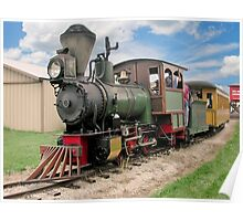 Narrow Gauge Train Poster