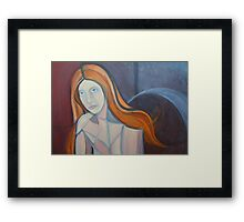 Red Head 2  Framed Print