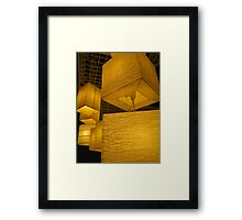 lanterns 1 Framed Print
