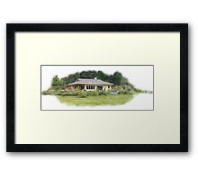 Whidbey Island Cottage Framed Print