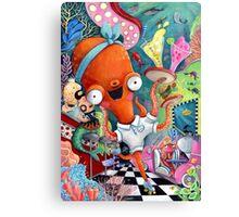 Underwater Road Bar Canvas Print